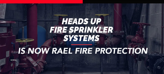RAEL Acquires Heads Up Fire Sprinkler to Expand Capacity and Presence